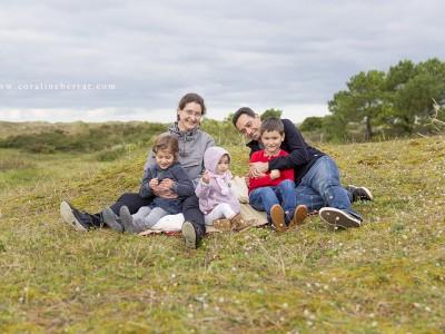 Séance famille - Dunes de Biville