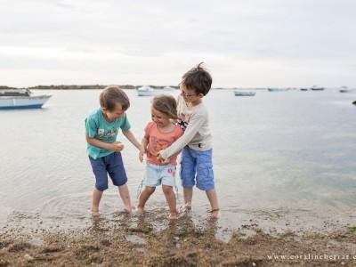 Portraits d'enfants - Plage de Vicq-sur-Mer